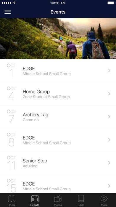 Zone Student Ministry screenshot 2