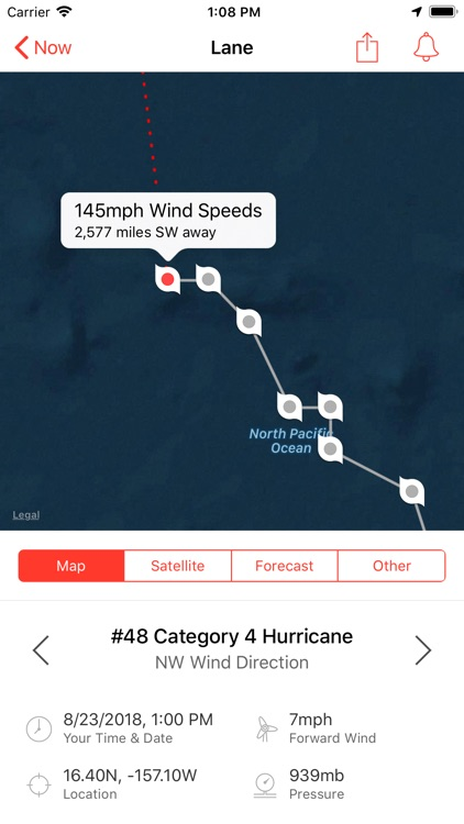 My Hurricane Tracker & Alerts
