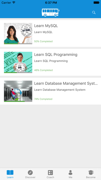 Learn MySQL, SQL and DBMS screenshot one