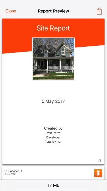 Site Report screenshot-3