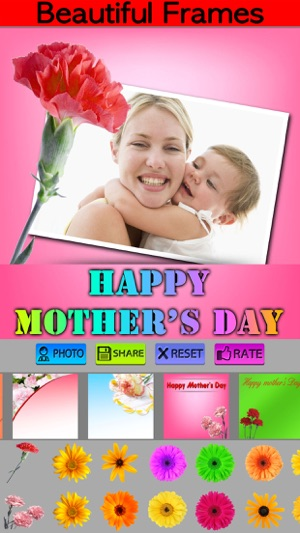 Photo Frame For Mother\'s Day:) on the App Store