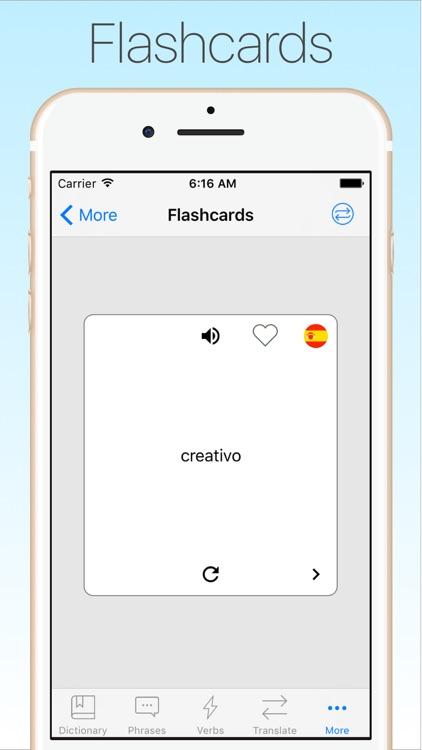 Spanish Translator & Dict + screenshot-4