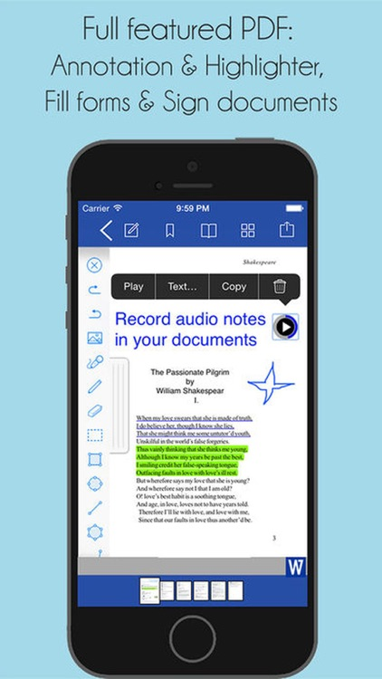 Office Word : for MS Docs edit screenshot-3