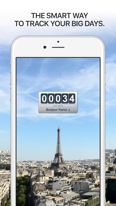 Screenshot for Big Day - Event Countdown in Czech Republic App Store