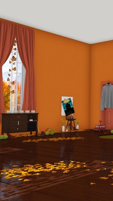 脱出ゲーム Autumn 紅葉とキノコとリスの家 screenshot1