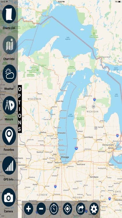 Wisconsin Marine Charts screenshot-0