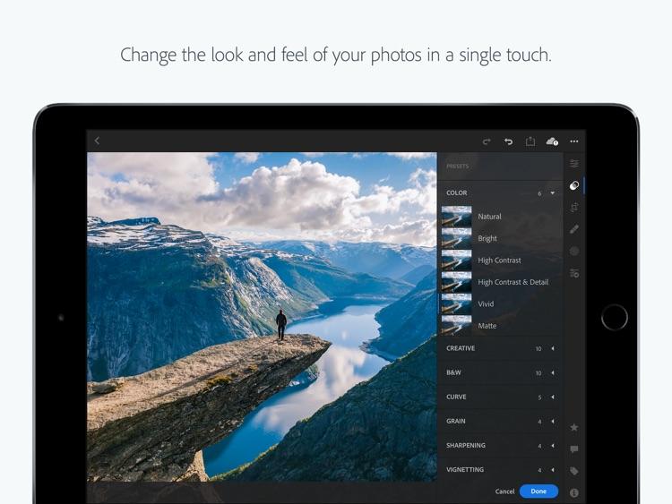 Adobe Lightroom CC for iPad screenshot-0