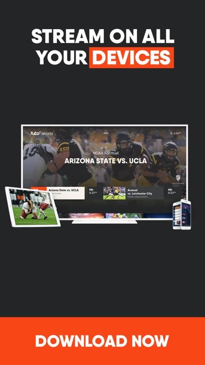 fuboTV: Stream Live Sports screenshot-4