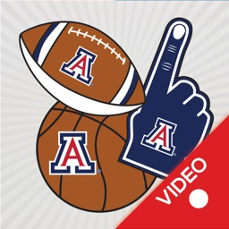 Arizona Wildcats Animated Selfie Stickers