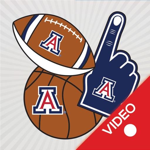 Arizona Wildcats Animated Selfie Stickers