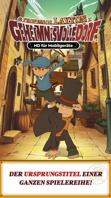 Screenshot for Layton: Geheimnisvolles Dorf in Germany App Store