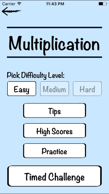 Mental Math Cards Challenge screenshot-4