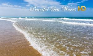 Peaceful Sea Waves HD