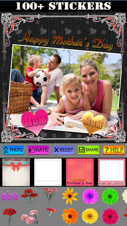 Mother's Day Frames and Labels