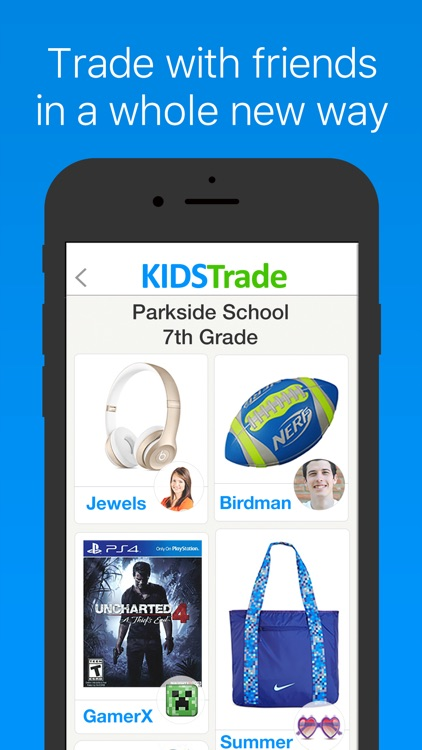 KidsTrade - Trade With Friends