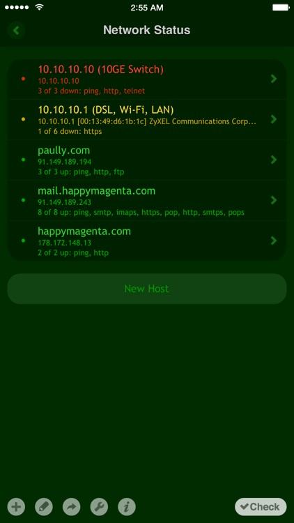 Net Status - Server Monitor