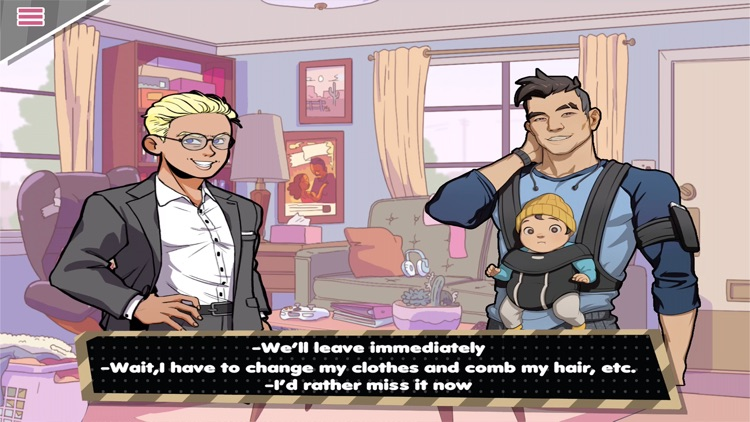 Dad Dating Simulator - Dream Daddy screenshot-3
