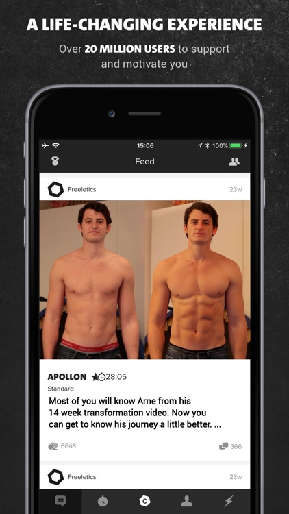 Freeletics: Fitness Coach screenshot-4