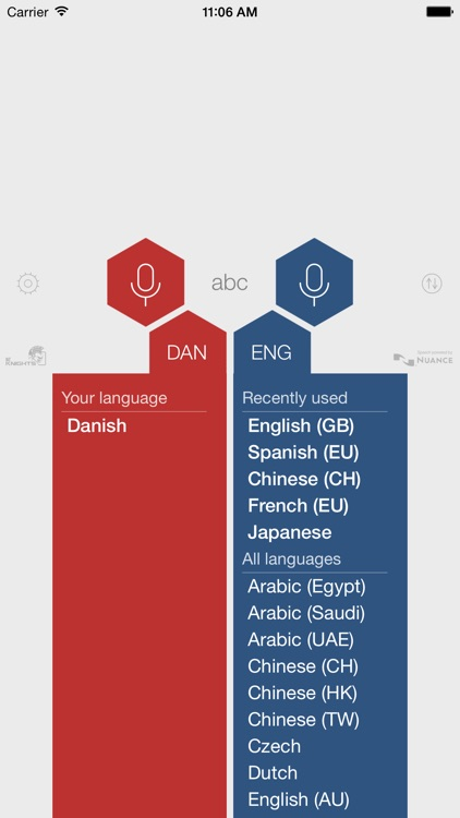 Babel Danish Voice Translator
