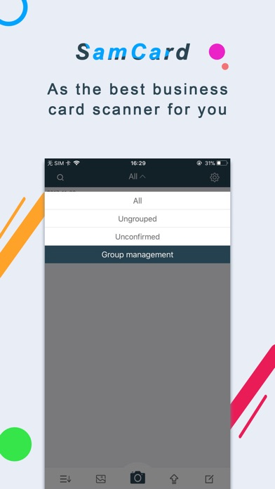 Business card scanner samcard app price drops screenshot 2 for business card scanner samcard reheart