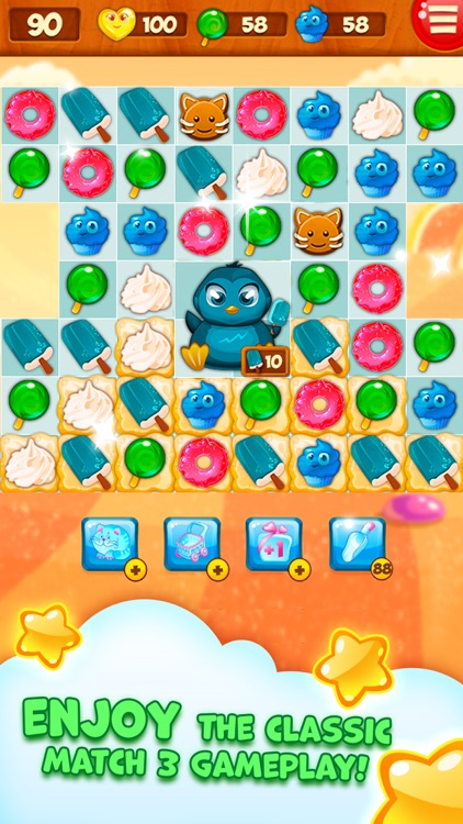 Candy Valley - Match 3 Puzzle screenshot-3