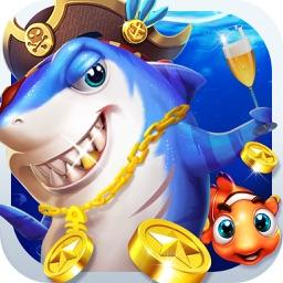 疯狂捕鱼-捕鱼机打鱼游戏