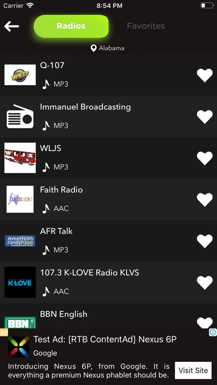 Radio Fm: music, news, sports screenshot-1