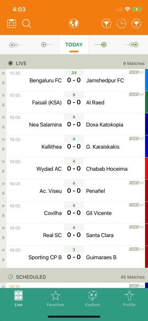 Livescore Futbol 24