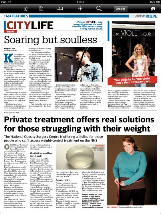 Manchester Evening News (iPad) screenshot-4