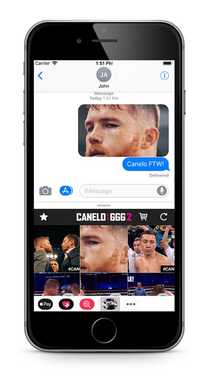 Canelo VS GGG 2 Stickers screenshot-2