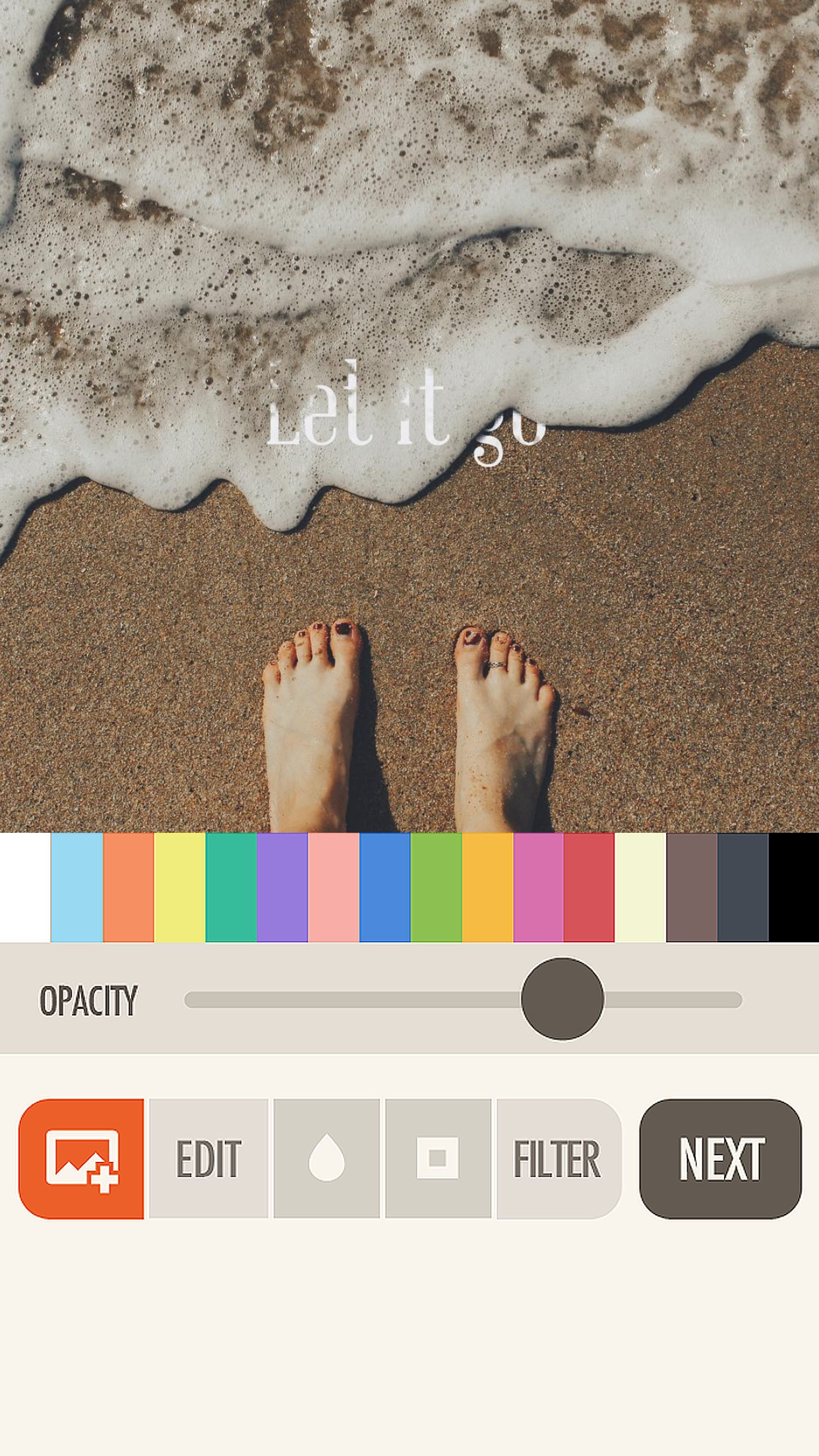 Screenshot do app Fonta - Little Design Studio