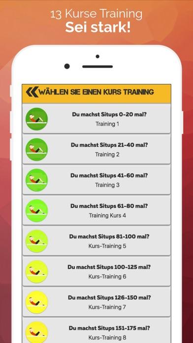 Mein Trainer: PressScreenshot von 2