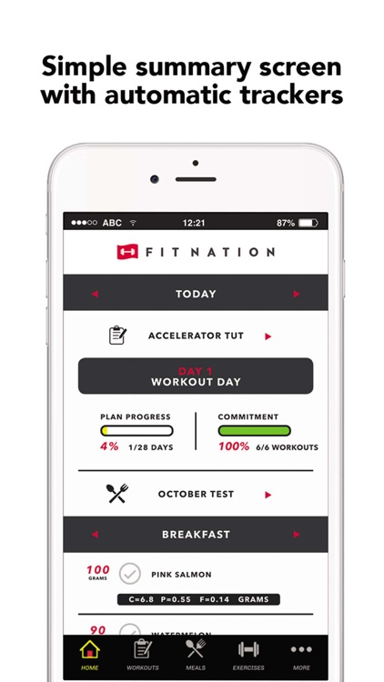 FitNation: Workout & Meal Plan screenshot-4
