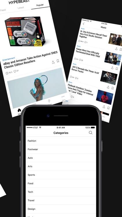 HYPEBEAST - News, Fashion, Sneakers screenshot-4
