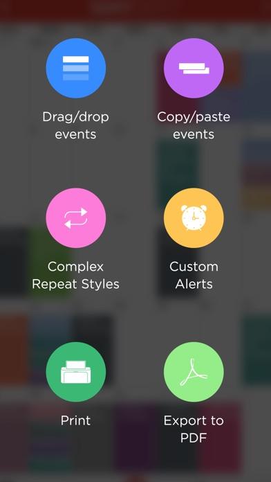 Icalendar review screenshots