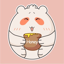 Silly Bear Animated Stickers