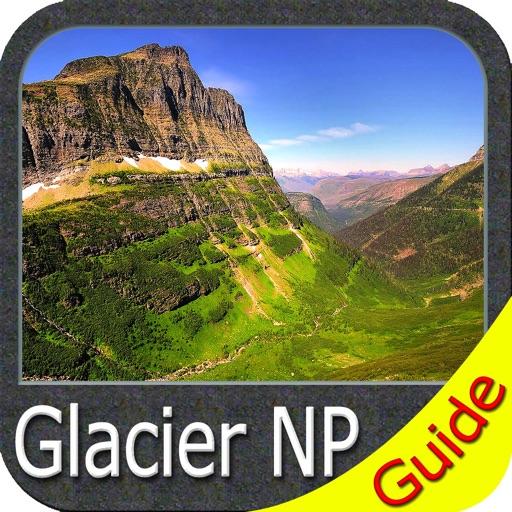 Glacier National Park - GPS Map Navigator