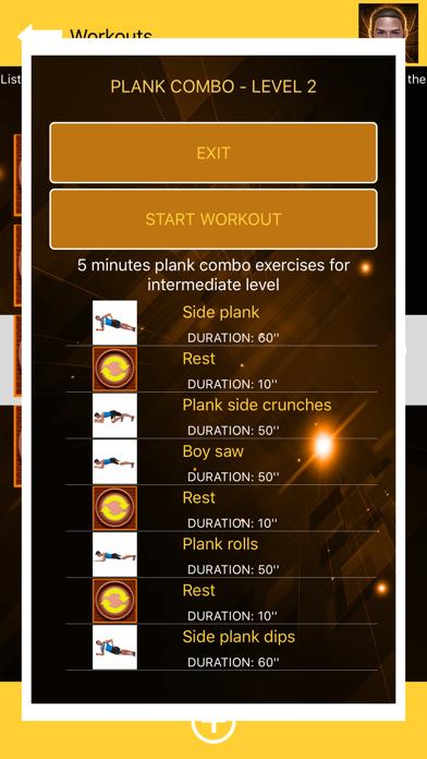 Plank: Abs Workout for Men screenshot 7