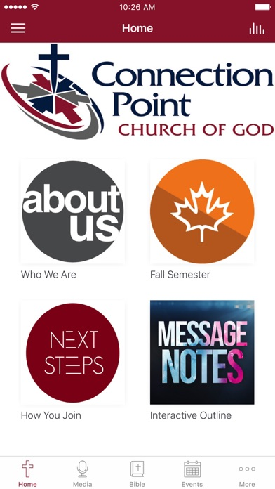 Connection Point Church of God screenshot 1