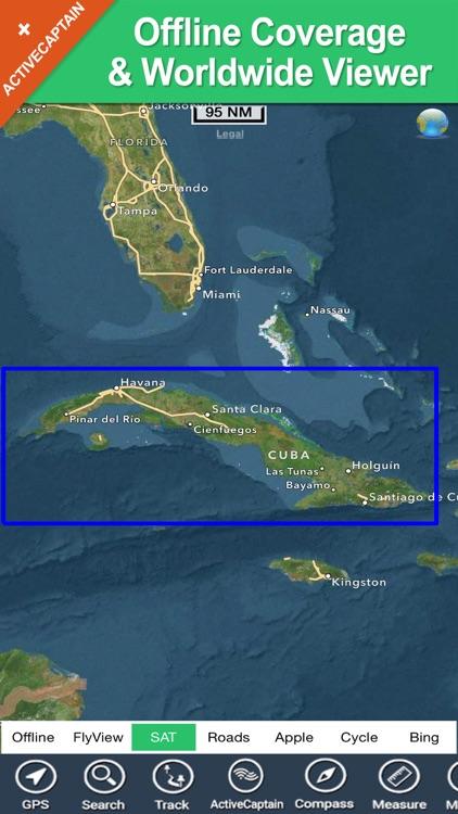 Cuba HD - GPS Map Navigator screenshot-4