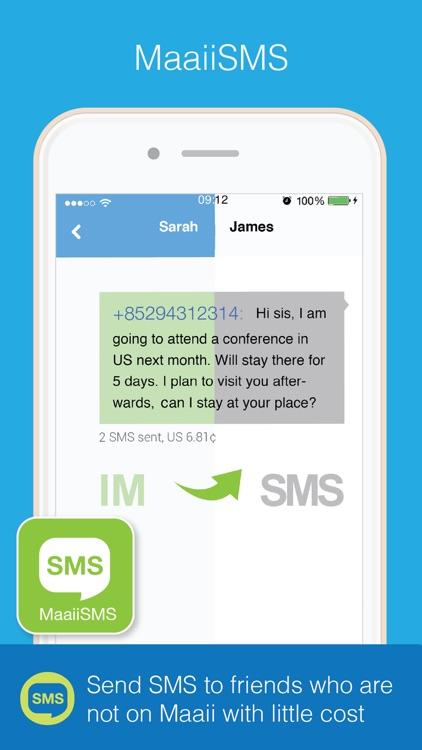 Maaii: Calls & Messages screenshot-3