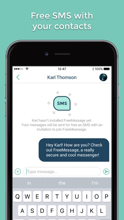 FreeMessage - secure Messenger
