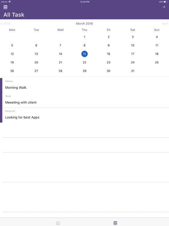 ToDo task-list manager tool screenshot 4