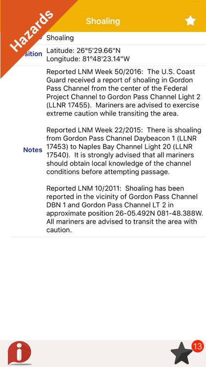 Florida fishing charts GPS screenshot-3