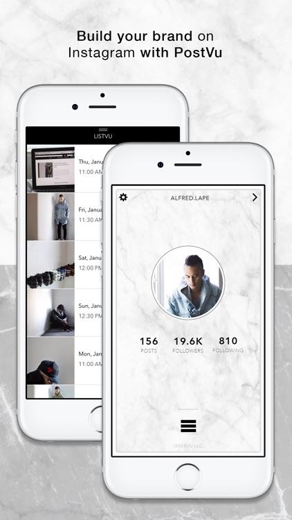 PostVu: Visual Planner screenshot-0