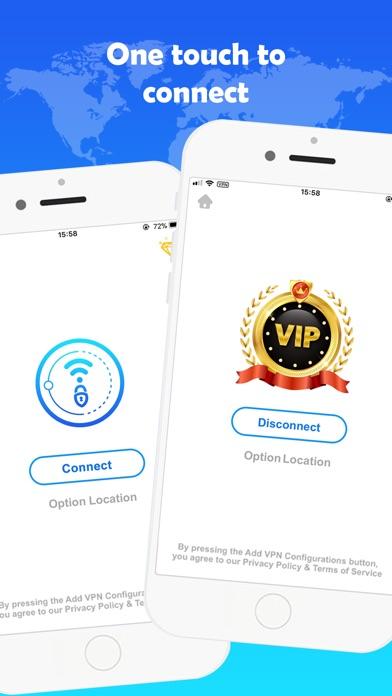 VPN TOP - Unlimited VPN Proxy Screenshot on iOS