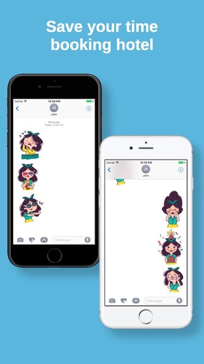 Lilly Sticker Pack screenshot-3