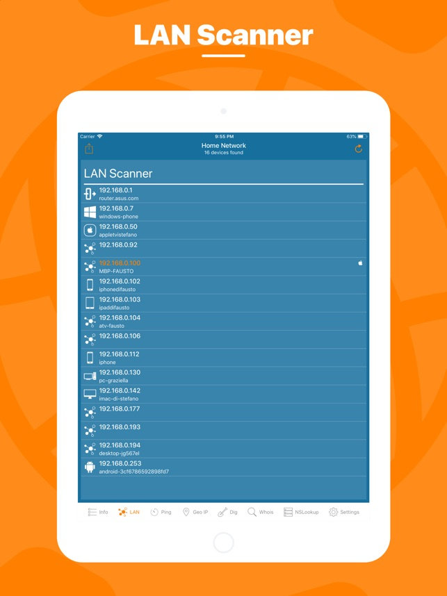 Network Utility Pro Screenshot