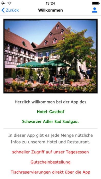 Hotel-Gasthof Schwarzer Adler screenshot two