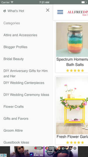 AllFreeDIYWeddings on the App Store